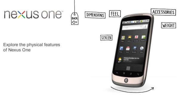Google Nexus One now available